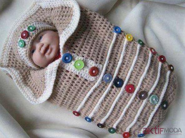 Örgü Bebek Battaniyesi Yapımı
