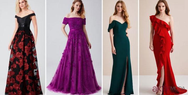 2019 Abiye Elbise Modelleri