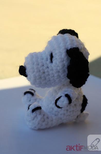 Amigurumi Snoopy Oyuncak Modelleri
