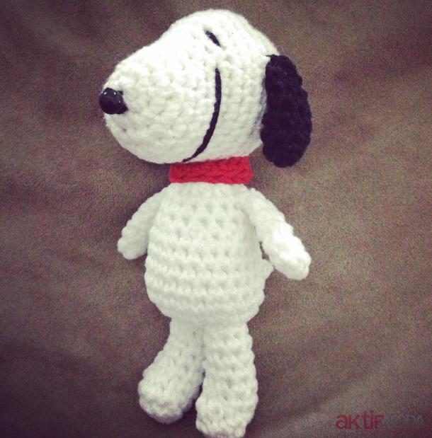 Amigurumi Snoopy Tarifi
