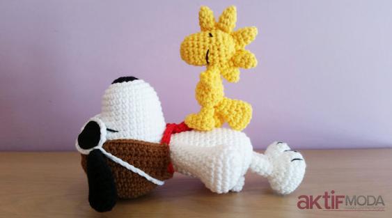 Amigurumi Snoopy Yapılışı