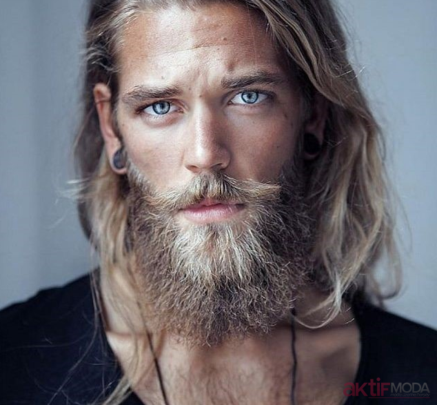 Dağınık Erkek Uzun Saç Modelleri