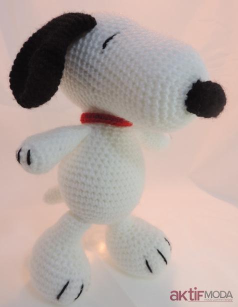 Farklı Örgü Snoopy Oyuncak Modelleri