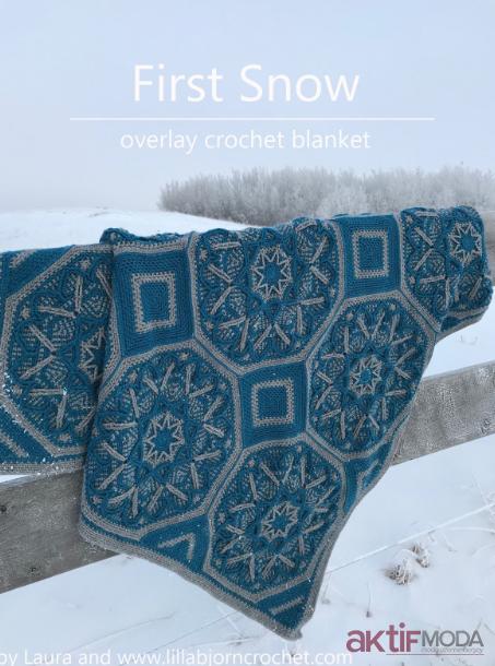Mavi Kar Tanesi Battaniye Modelleri