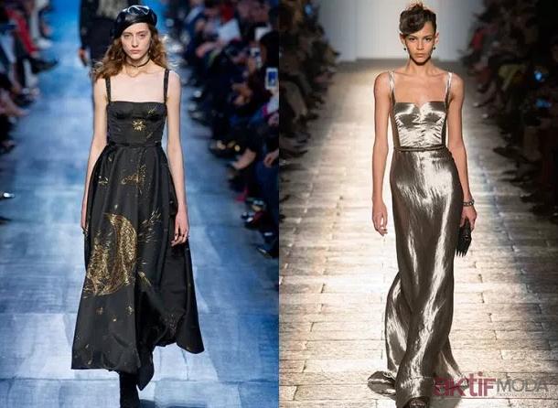 Parlak Abiye Elbise Modelleri