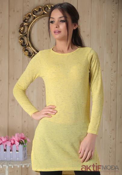 Sarı Tunik Modelleri