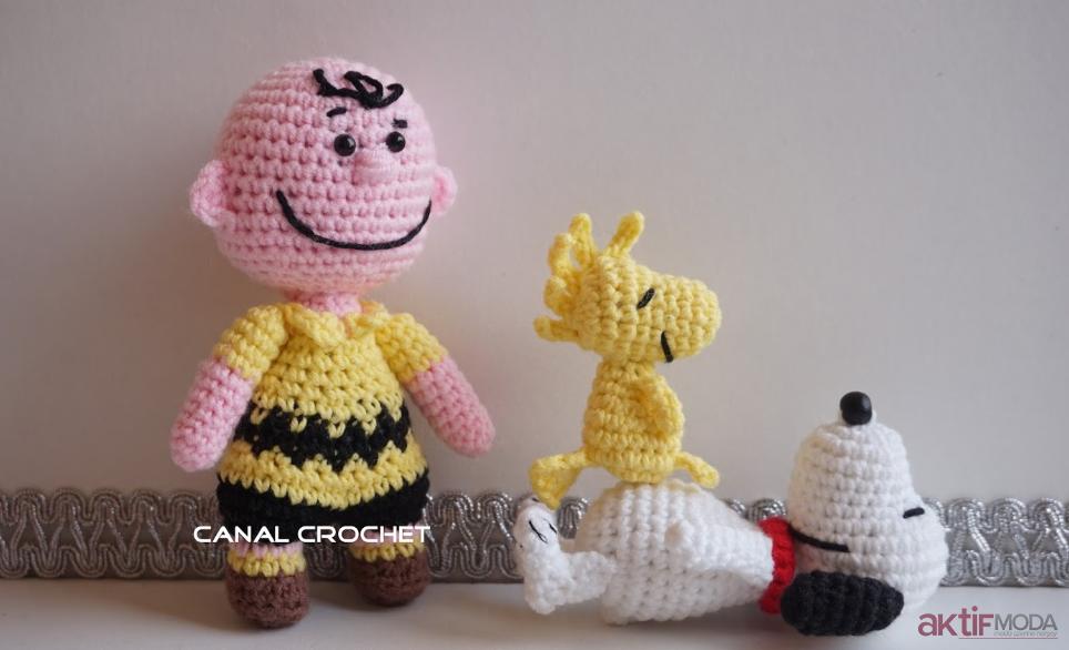 Snoopy Amigurumi Modelleri