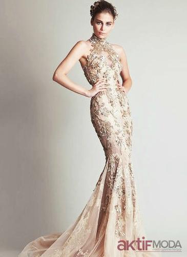 Taşlı Abiye Elbise Modelleri