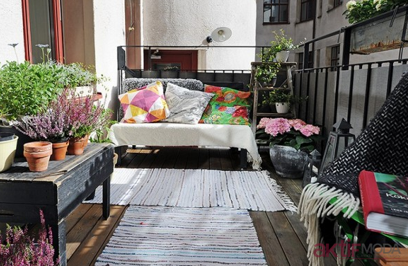 2019 Minimalist Balkon Önerileri