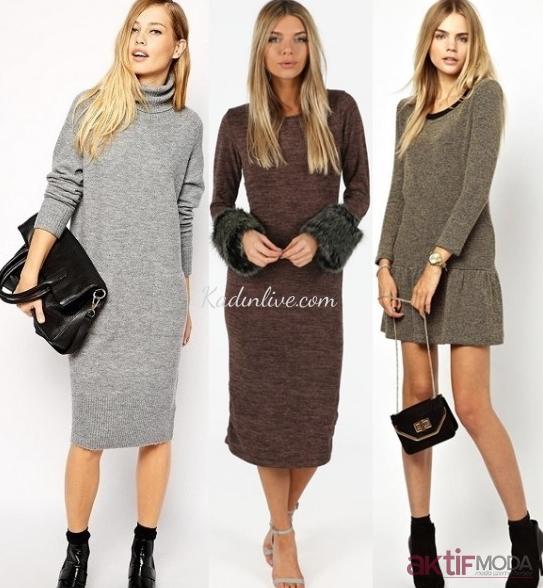 2019 Sonbahar Elbise Modelleri