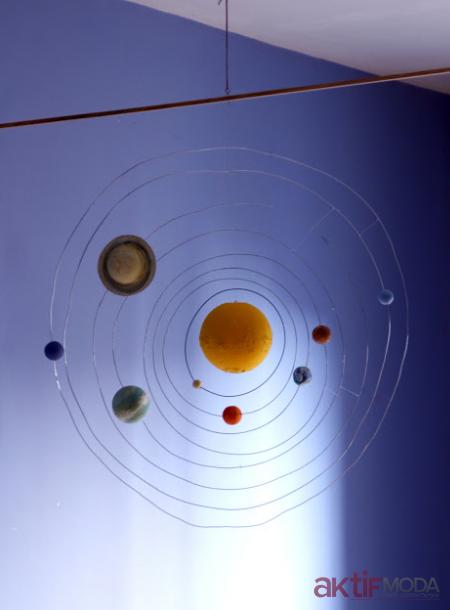 Askılı Güneş Sistemi Yapımı