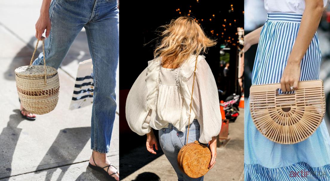 Hasır Çanta Modelleri 2019