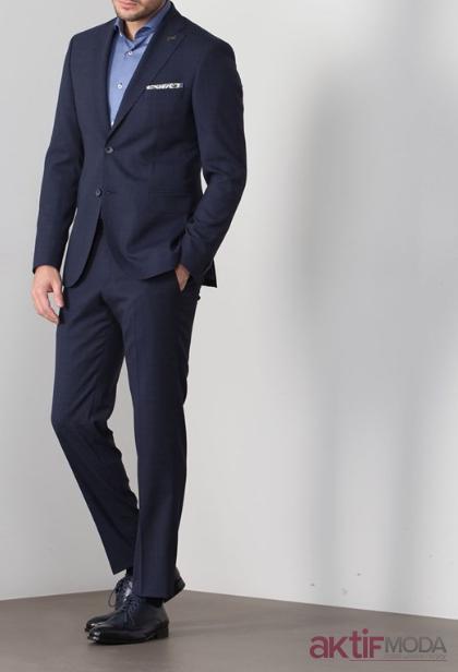 Lacivert Takım Elbise Modelleri