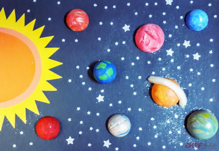 Oyun Hamuru İle Güneş Sistemi Ödevi Nasıl Yapılır