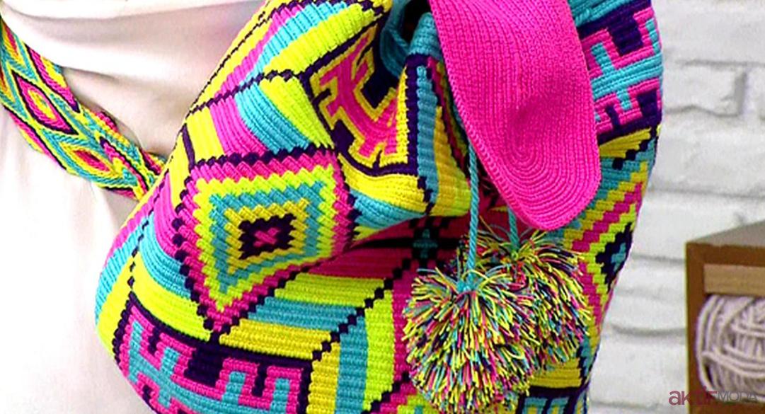 Renkli Wayuu Çanta Modelleri