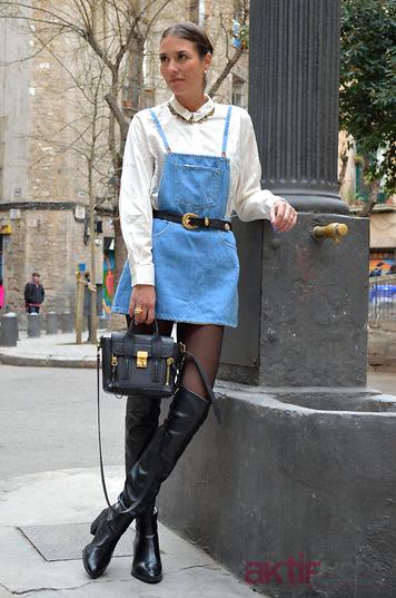 Sonbahar Kot Elbise Kombin Önerileri