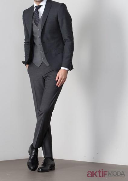Yelekli Takım Elbise Modelleri