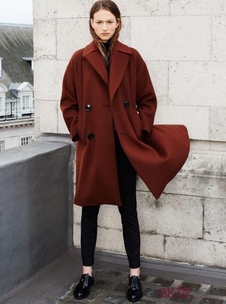 Zara Koyu Renkli Kaban Modelleri