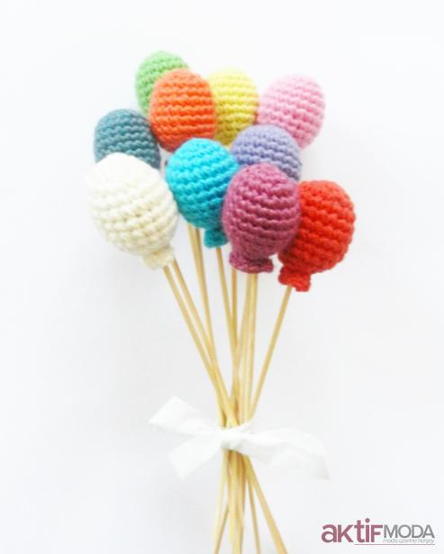 Amigurumi Balon Oyuncak Modelleri