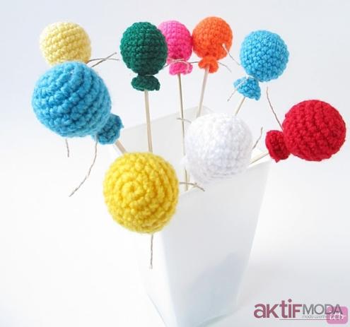 Amigurumi Minik Balon Modelleri