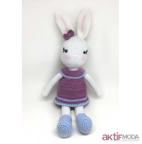 Amigurumi Minik Tavşan Modeli