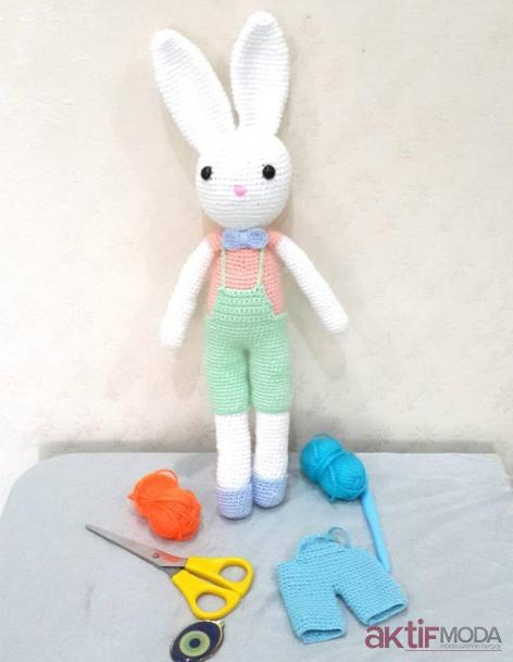 Amigurumi Minik Tavşan Modelleri