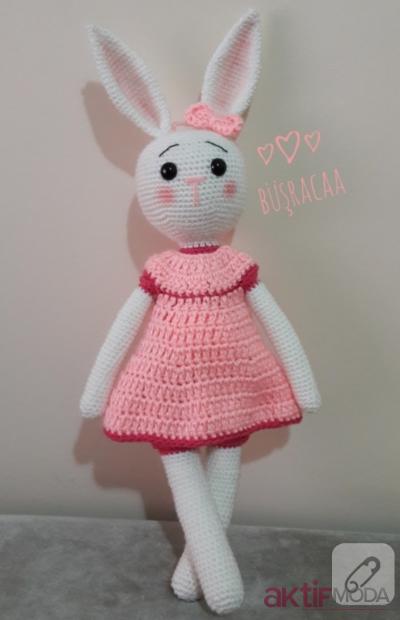 Amigurumi Minik Tavşan Yapılışı