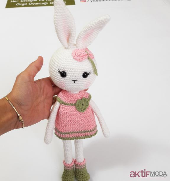 Amigurumi Minik Tavşan Yapılış Örnekleri