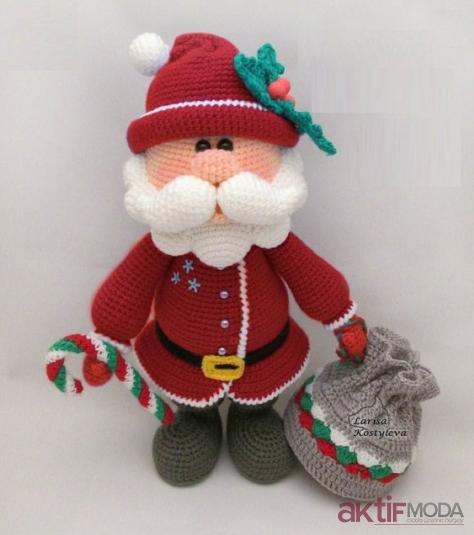 Amigurumi Noel Baba Modeli