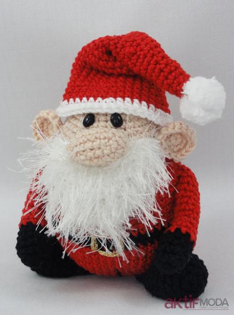 Amigurumi Noel Baba Modelleri 2019
