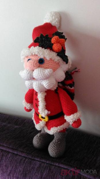 Amigurumi Noel Baba Oyuncak Modelleri