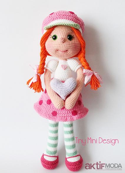 Amigurumi Olivia Oyuncak Bebek Modelleri
