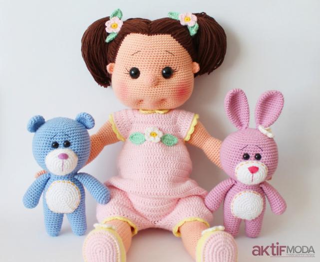 Amigurumi Oyuncak Bebek Modelleri