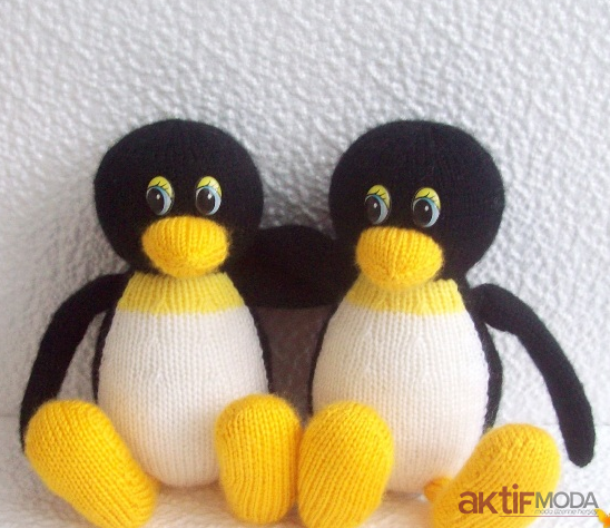 Amigurumi penguen çıngırak video3 - YouTube | 474x548