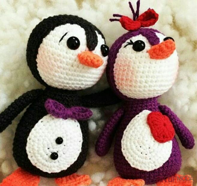Amigurumi Penguen Pingu Modelleri