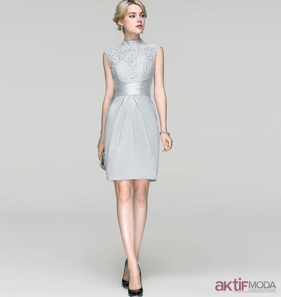 2edafa80aaa76 Düz Abiye Elbise Modelleri 2019 - Aktif Moda - Aktif Moda