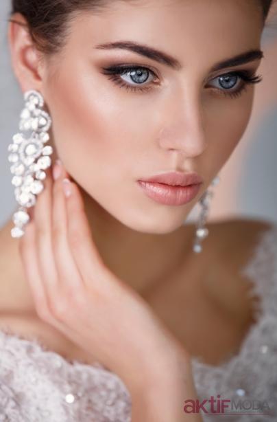Elegan Gelin Makyaj Modelleri