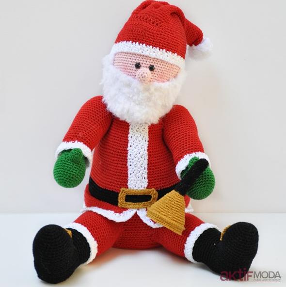 Farklı Amigurumi Noel Baba Modelleri