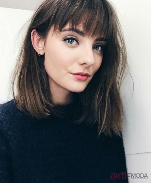 Kahkül Saç Modelleri 2019