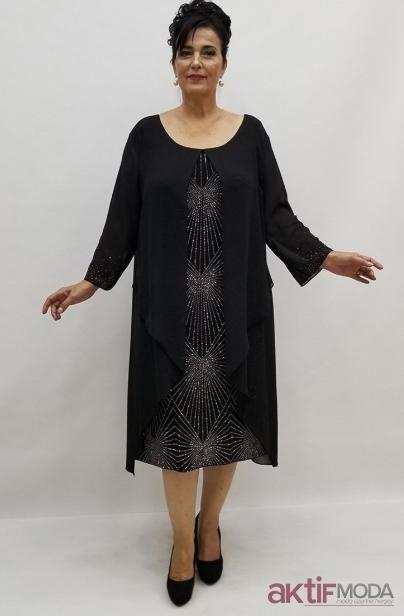 2019 Kış Büyük Beden Abiye Elbise Modelleri
