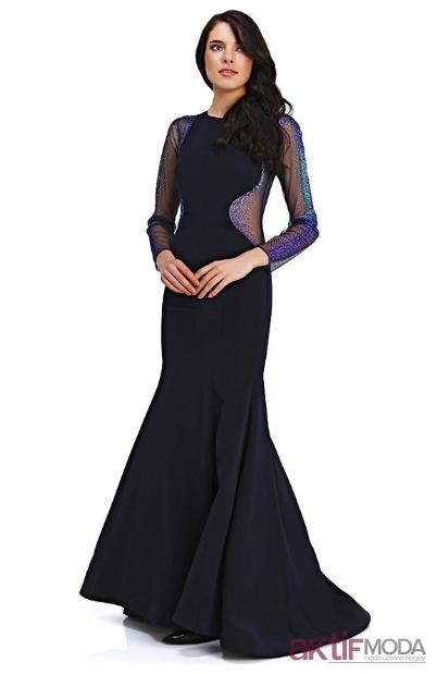 2019 Kış Bel Dekolteli Abiye Elbiseler