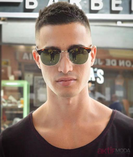 3 Numara Erkek Saç Modelleri 2019