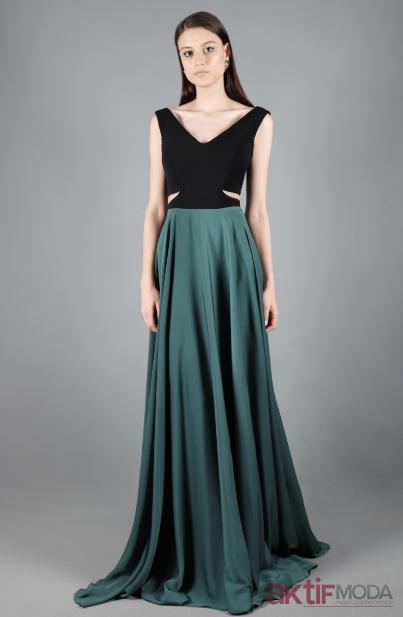 Bel Dekolteli Abiye Elbise Modelleri 2019