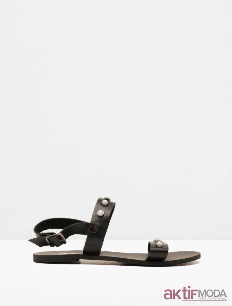 Deri Sandalet Modelleri 2019