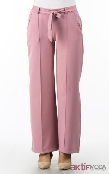 Kumaş Bol Kesim Pantolon Modelleri 2019