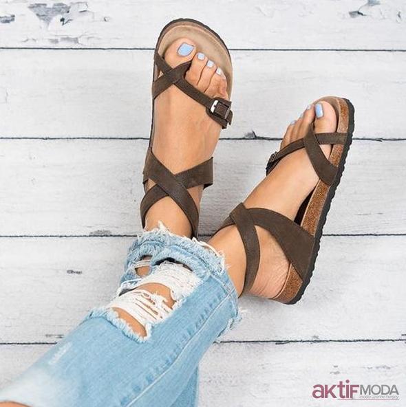 Taba Sandalet Modelleri 2019