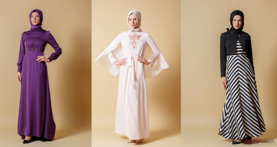 Tesettür Elbise Modelleri 2019