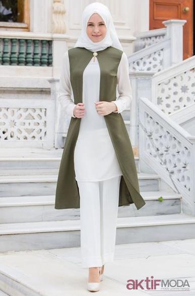 Tozlu Giyim Beyaz Tunik Modelleri 2019