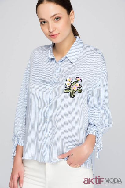 İpekyol Desenli Gömlek Modelleri 2019