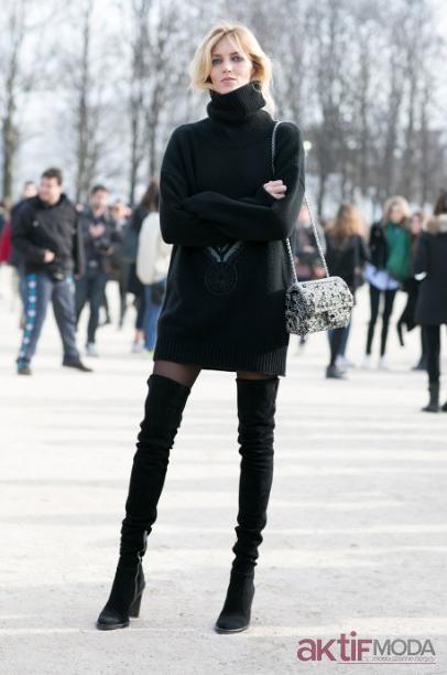 2020 Kış Triko Elbise Modelleri